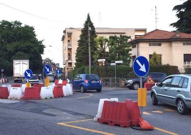 viabilità piazza libertà cassano magnago