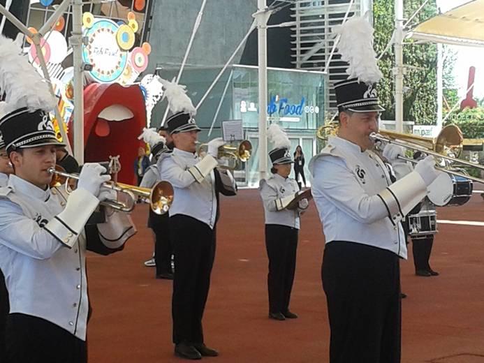 academy parade band, caronno pertusella, expo,