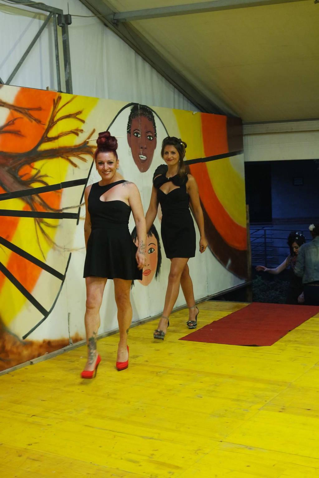 Accunciature in gara sfilano a Biumo
