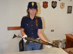 Arresto Digos per armi da guerra, 26 giugno 2015