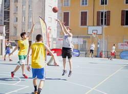 basket spettacolo da move memorial aletti varese