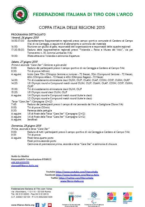 """Conferenza stampa di presentazione del XIII Memorial """"Gino Mattielli"""" (Coppa Italia delle Regioni di Tiro con l\'arco)"""