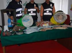 Cinque chili e mezzo di eroina sequestrati dalla Gdf