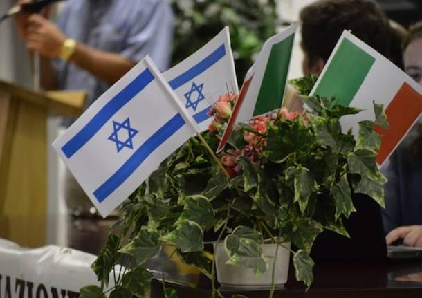 Cuveglio incontra Israele