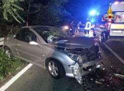 Cuvio incidente stradale 27 giugno 2015