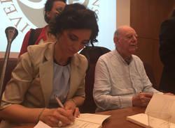 Dario Fo a Varese con Fiorina Cazacu