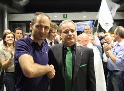 Festa in municipio per Fagioli sindaco