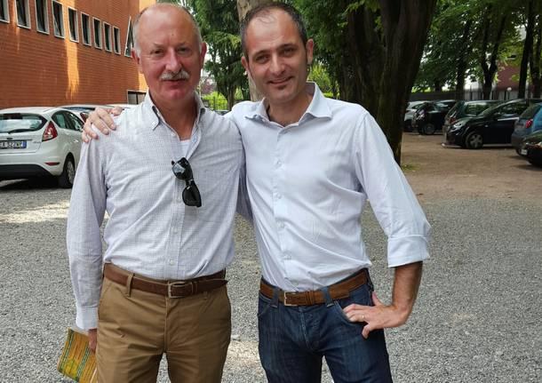 Franco Casali e Francesco Licata