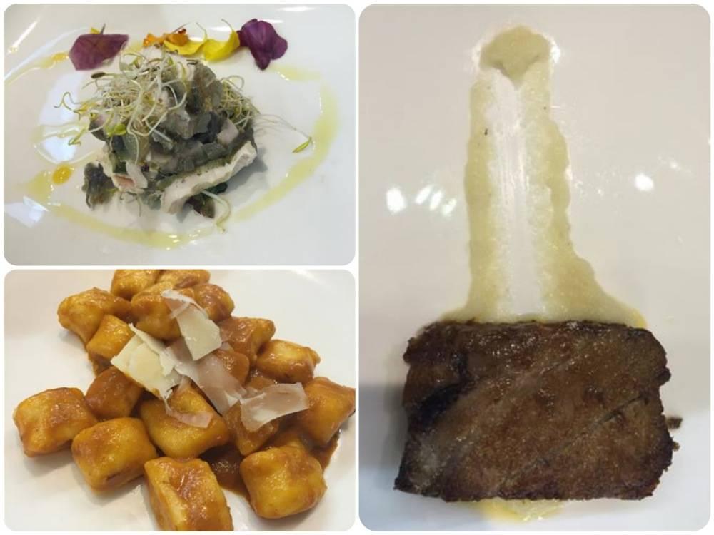 Gli avanzi di polenta e brasato diventano menu da chef