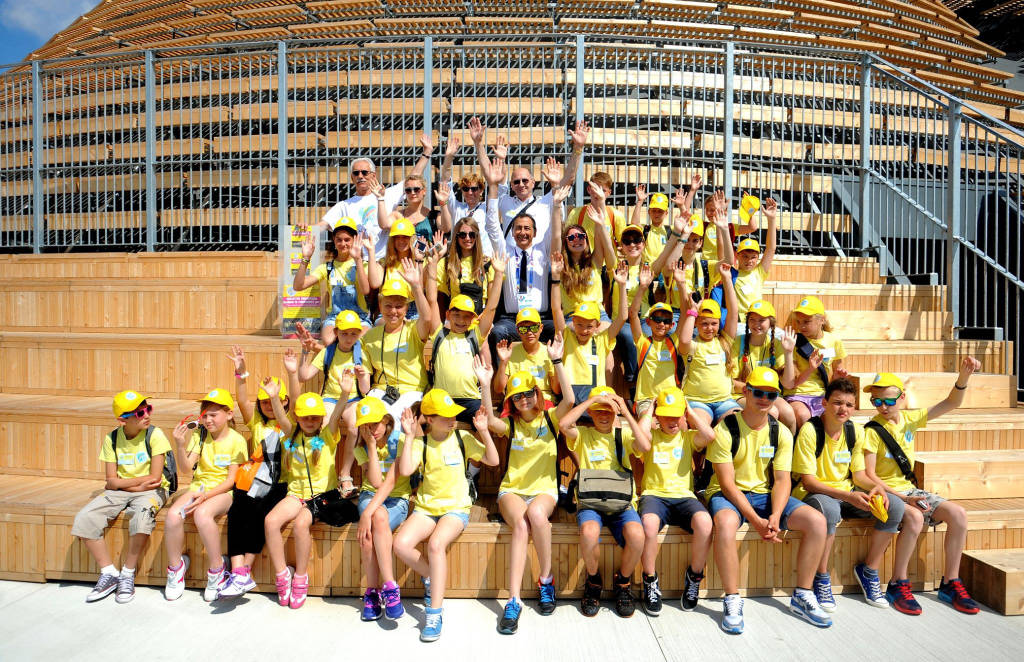 I bambini di Chernobyl ad Expo