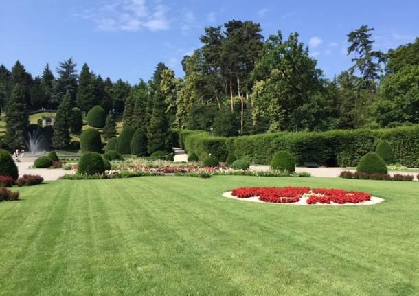 I Giardini Estensi fioriti