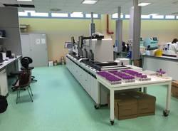 Il nuovo laboratorio analisi dell'ospedale di Varese
