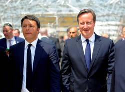 il premier Cameron ad Expo