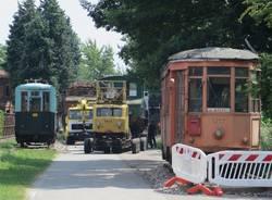 Il trasferimento dei treni Ogliari a Volandia