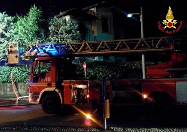 incendio via nazario Sauro