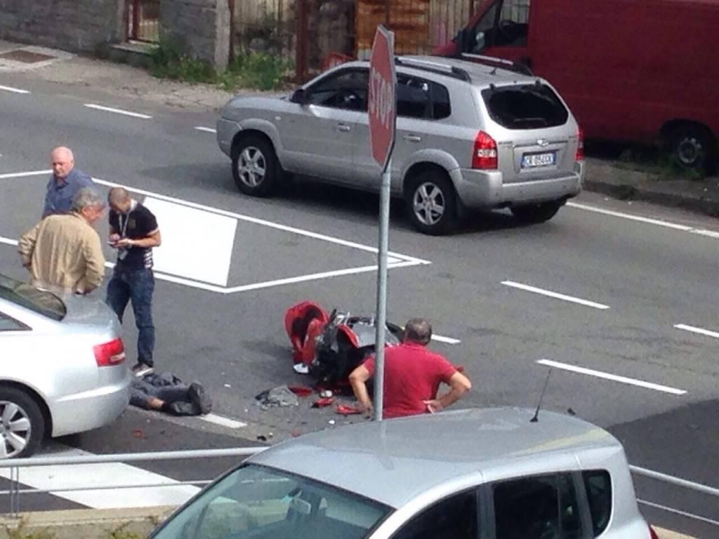 Incidente in via Sanvito
