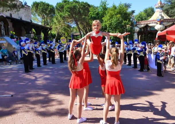 La Verdi Show Band di Lonate stupisce Gardaland