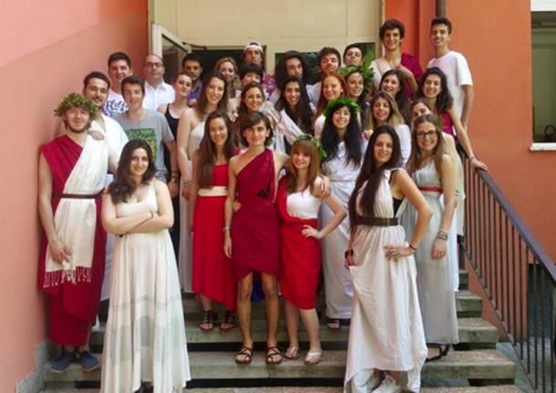 liceo Cairoli ultimi giorni