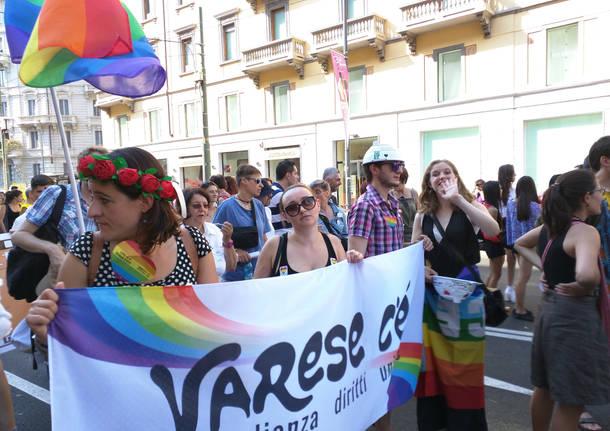 Milano pride 2015 Varese c'è