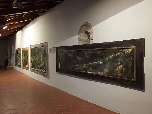Mostra Antonio Pedretti Chiostro di Voltorre