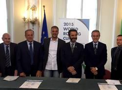 presentazione coppa del mondo varese 2015