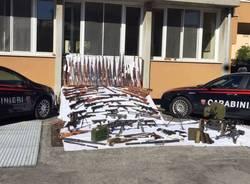 Sequestrate duecento armi da guerra