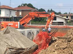 Sottopassaggio di Abbiate, iniziato lo scavo