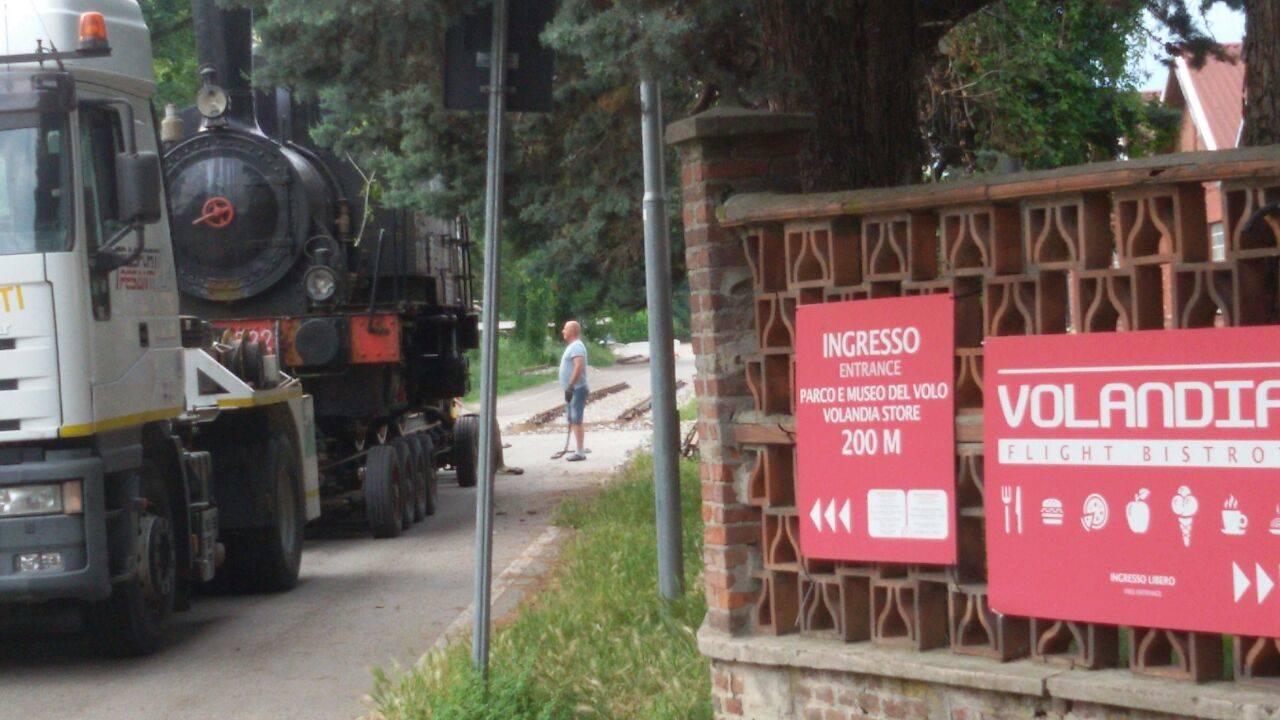 Trasferimento museo Ogliari a Volandia