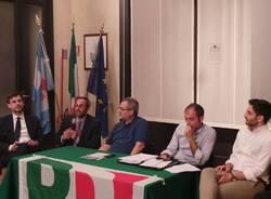 Umberto Ambrosoli a Saronno