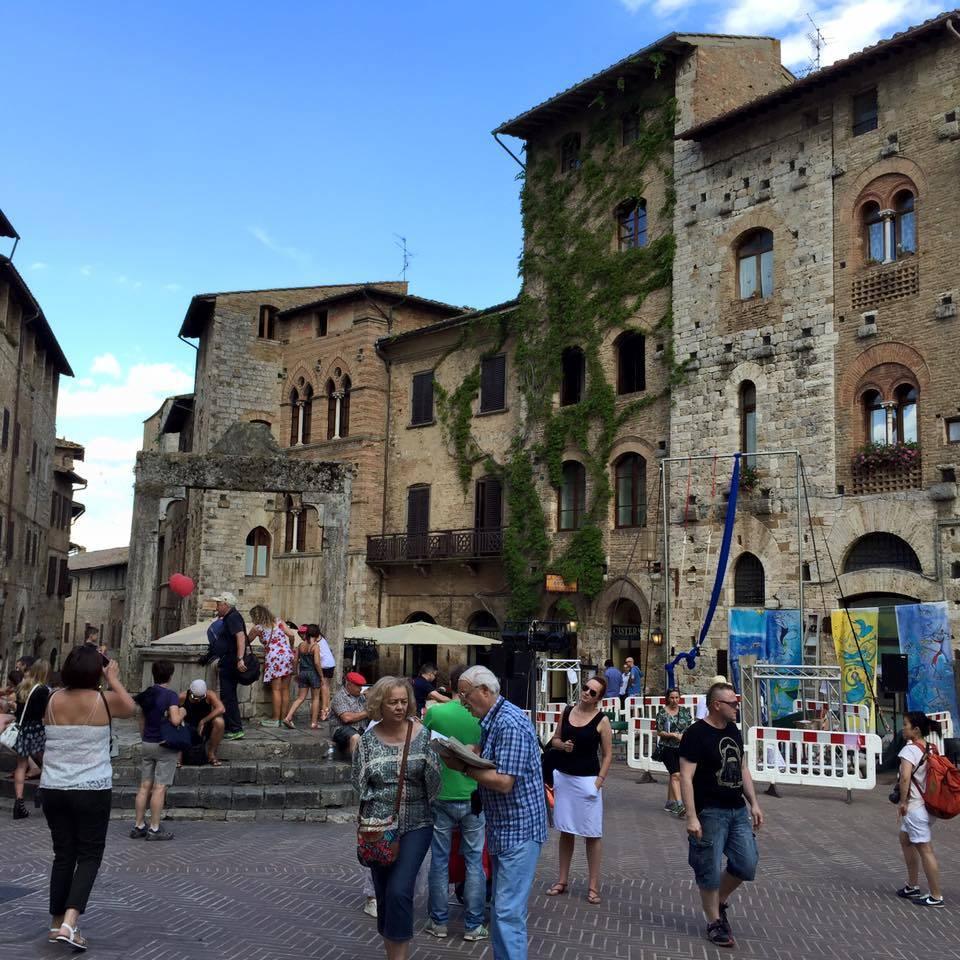 Via Francigena nona tappa : da Gambassi a San Gimignano