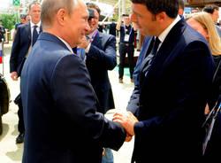 Visita Putin a Expo 10 giungo 2015