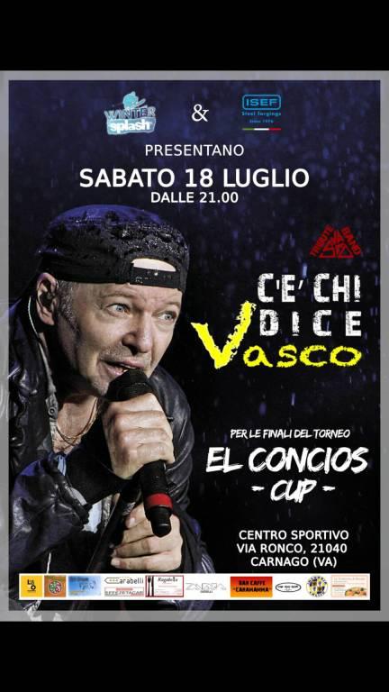 Elconcios Cup - C\'è CHI DICE VASCO (Concerto)