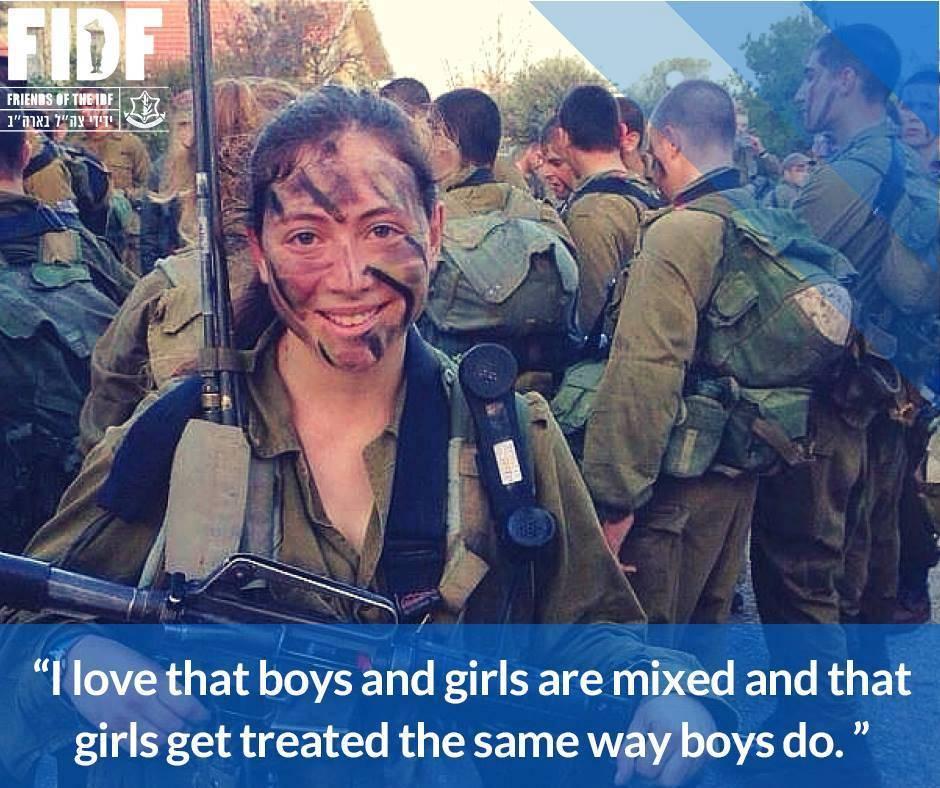 L\'IDF è forte perchè nessuno viene mai lasciato indietro