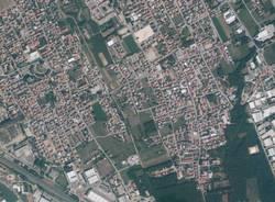 cassano magnago sud aerea da satellite