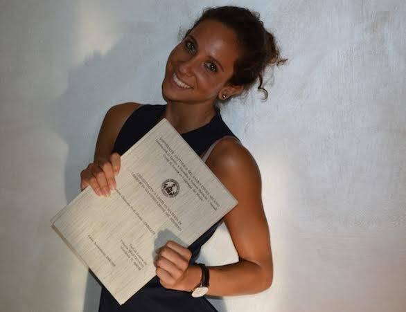 Congratulazioni Vittoria Martignoni