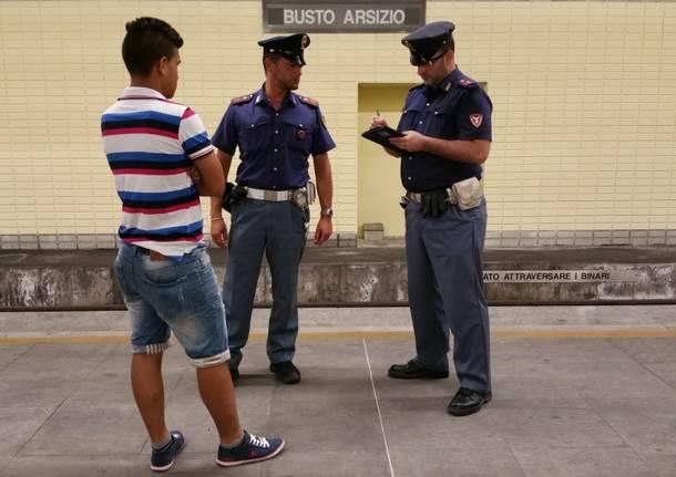 controlli polizia stazioni busto arsizio