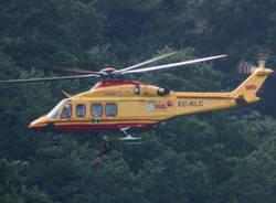 elisoccorso elicottero 118