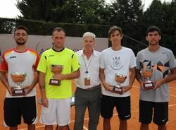 Finalisti torneo doppio tennis futures busto 2015