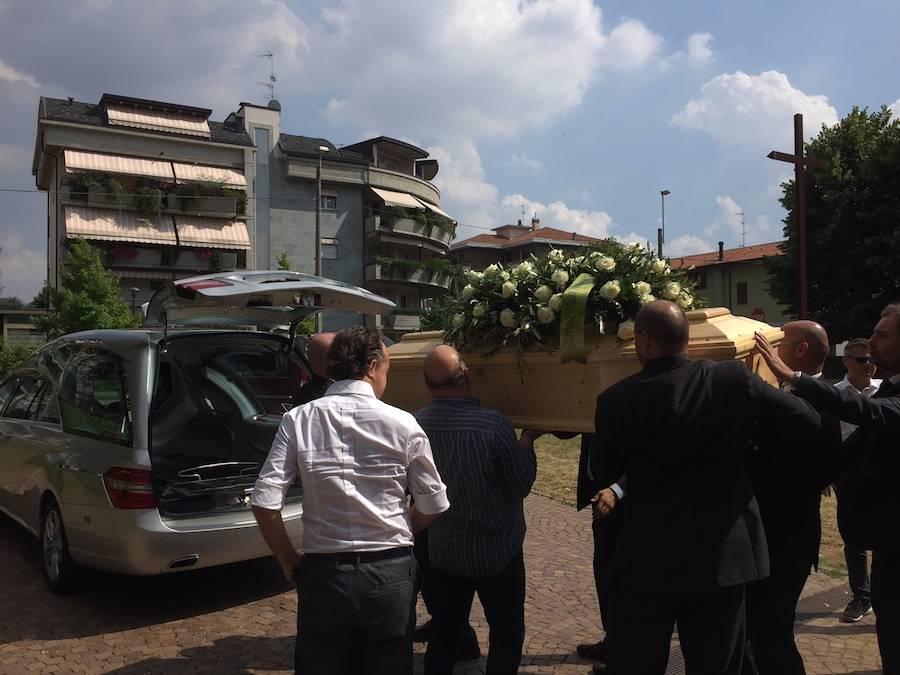 funerali di Maurizio Paleari