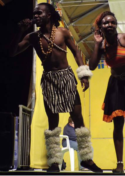 Il Kenia al Festival del Folclore a Cunardo