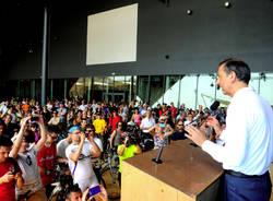 Inaugurata la pista ciclabiole per Expo