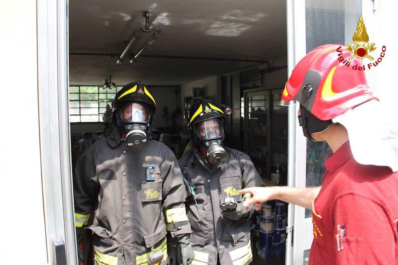 Incendio azienda chimica Lonate Pozzolo