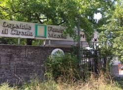 Ingresso di via Lazio ospedale di Circolo