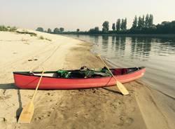 la canoa rossa po