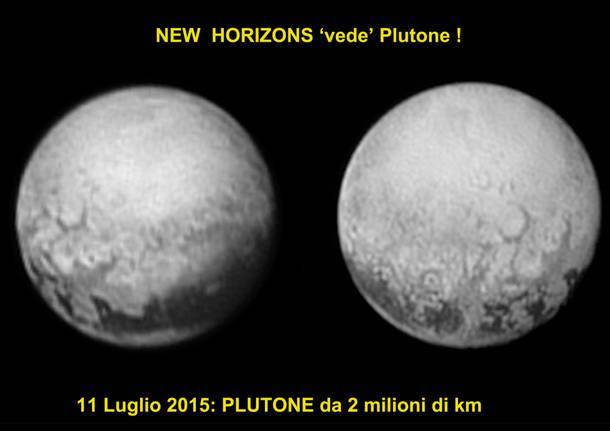 La sonda New Horizons arriva su Plutone