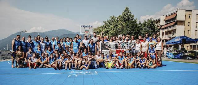 Le foto della 24 ore di basket - Luino 2015