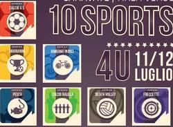 locandina torneo 10 sport caravate