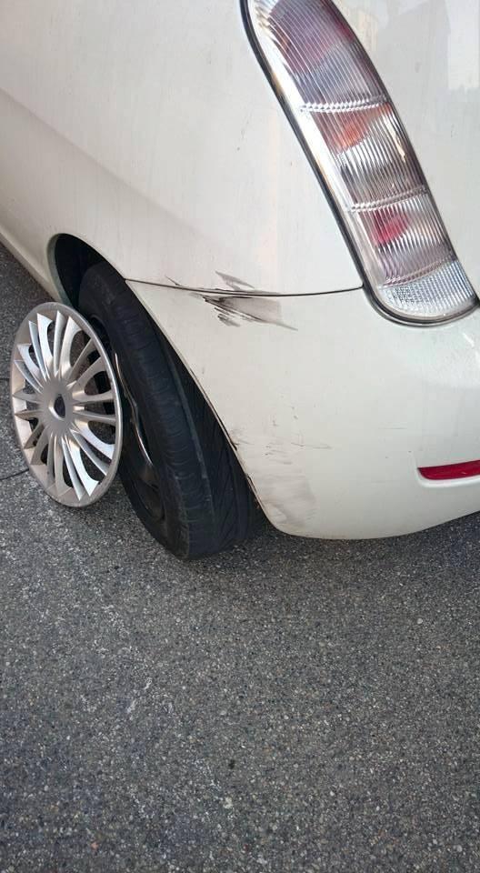 """""""MI hanno danneggiato la macchina parcheggiata"""""""