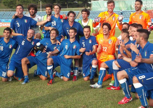 nazionale universitaria calcio 2015