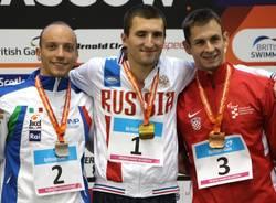 podio 100 farfalla mondiali nuoto paralimpico glasgow 2015 federico morlacchi